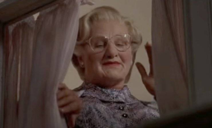 Mrs Doubtfire retroscena