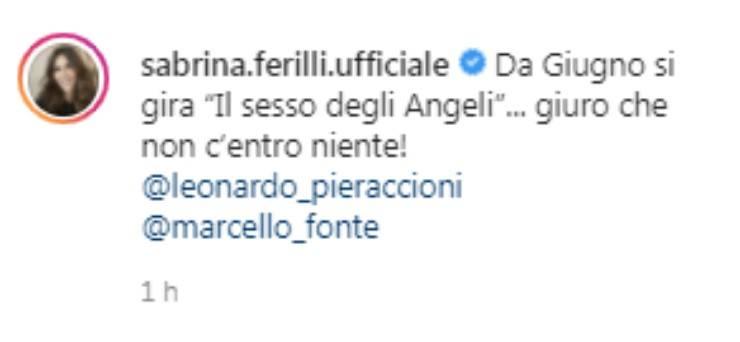 Sabrina Ferilli sorpresa