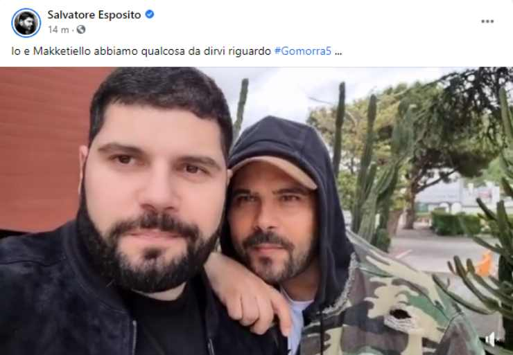 Salvio Esposito Marco D'Amore