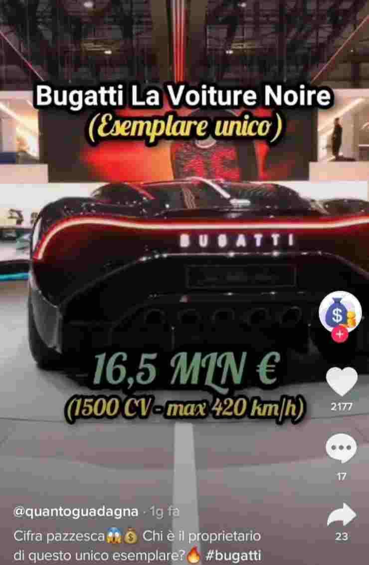 auto più costosa al mondo