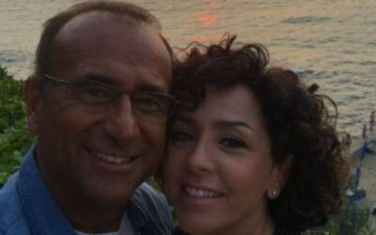 Carlo conti e Francesca