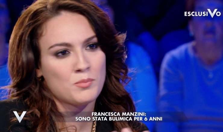 Francesca Manzini lacrime