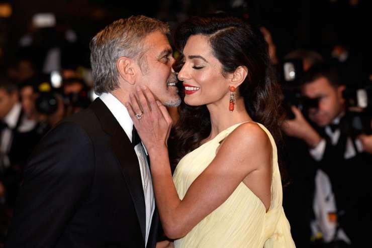 George Clooney notizia moglie