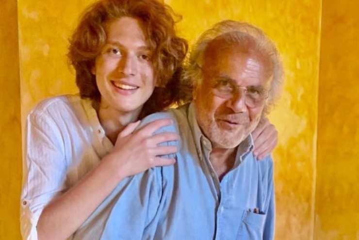 Jerry Calà e figlio
