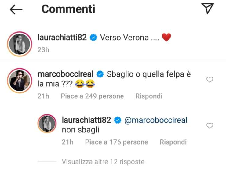 Laura chiatti commenti