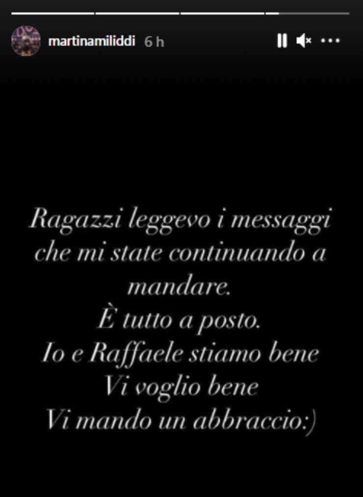 Amici Raffaele Martina lasciati