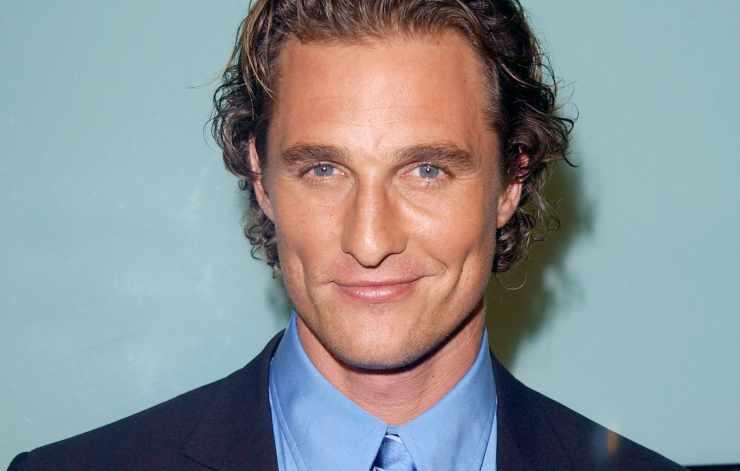 Matthew McConaughey passato