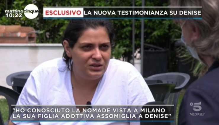 Denise Pipitone testimonianza Mattino Cinque