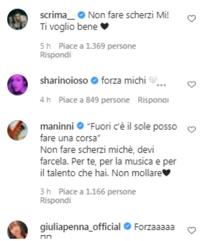 Michele Merlo ricoverato
