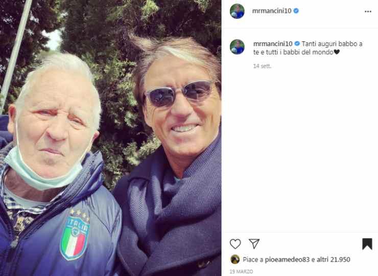 Roberto Mancini padre