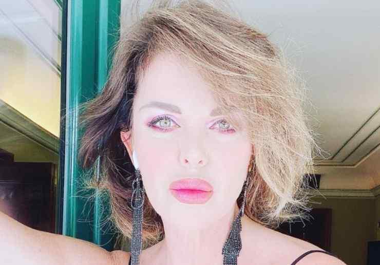 Alba Parietti showgirl