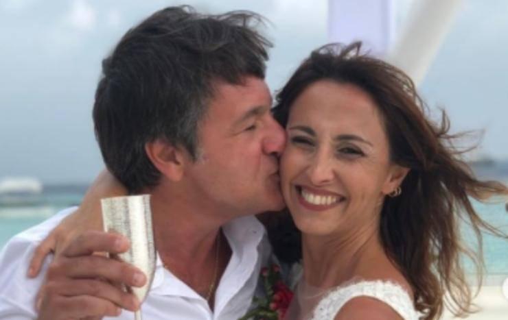 Benedetta Parodi Caressa matrimonio