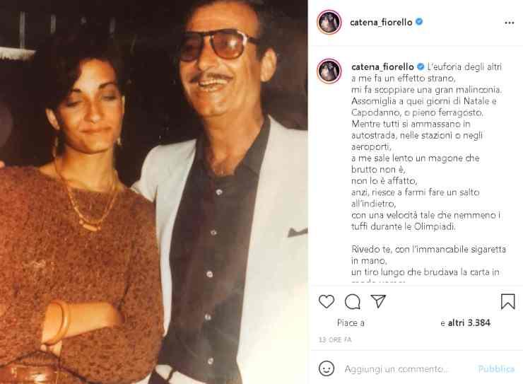 Catena Fiorello papà