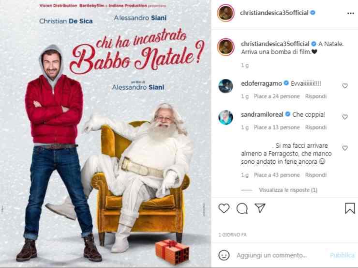 Christian De Sica conferma