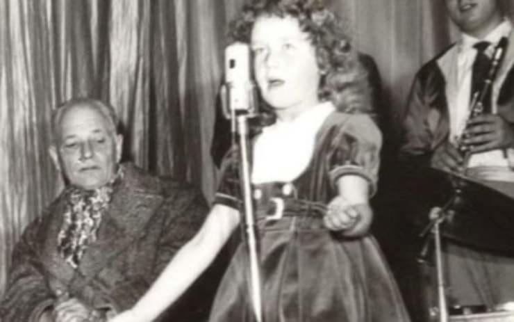 cantante italiana bambina