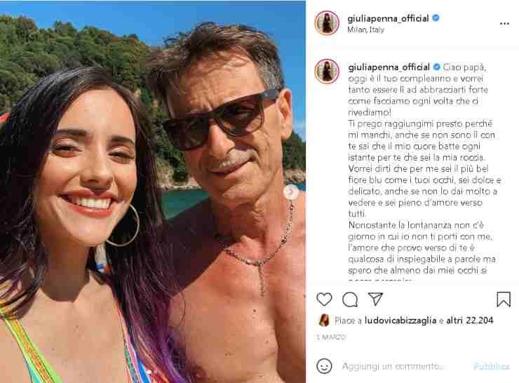 Giulia papà