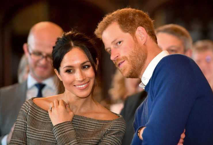 Harry e Meghan annuncio
