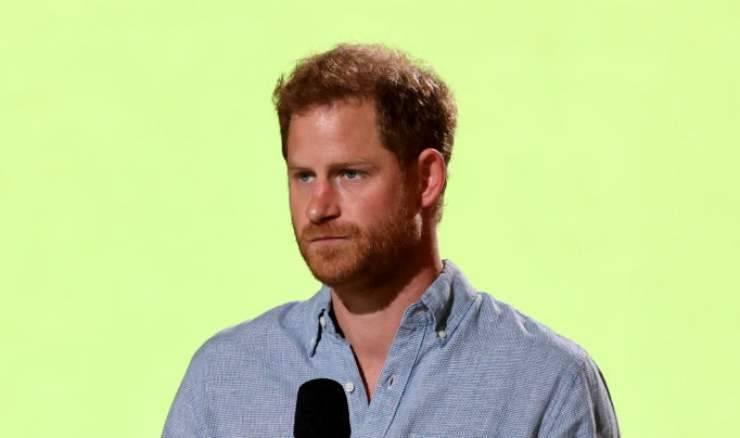 annuncio principe Harry