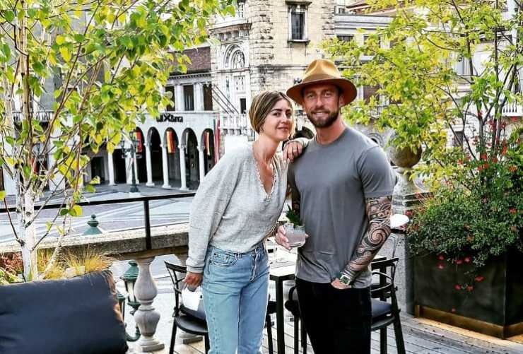 Marchisio e sua moglie