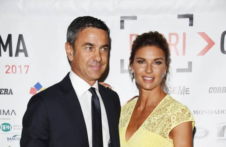 Martina Colombari e marito