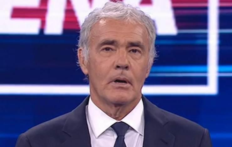 Massimo Giletti dispiacere