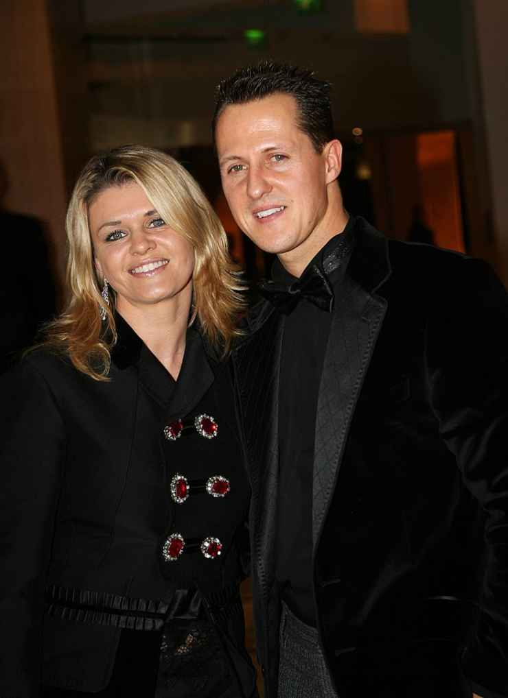 Michael Shumacher moglie