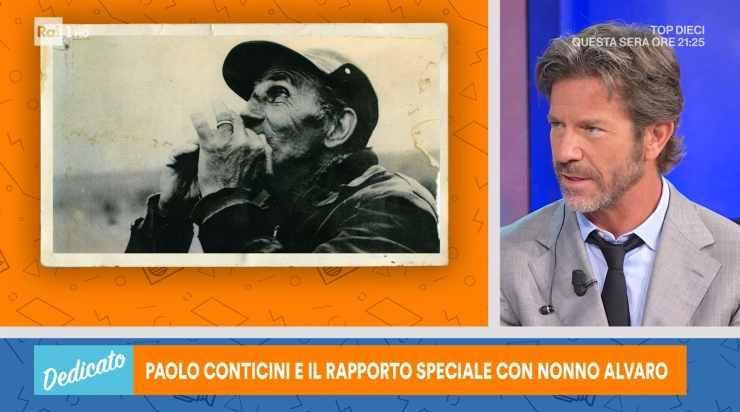 Paolo Conticini dolore