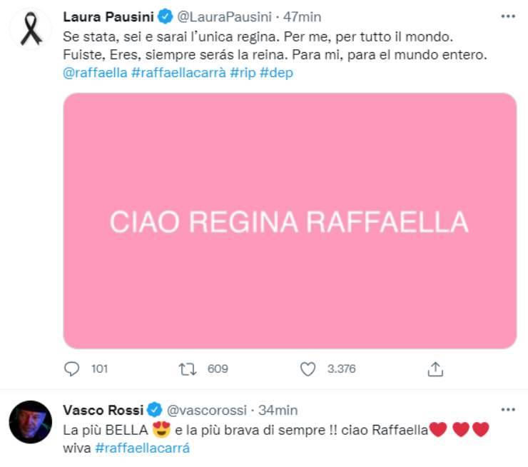 Raffaella Carrà morta