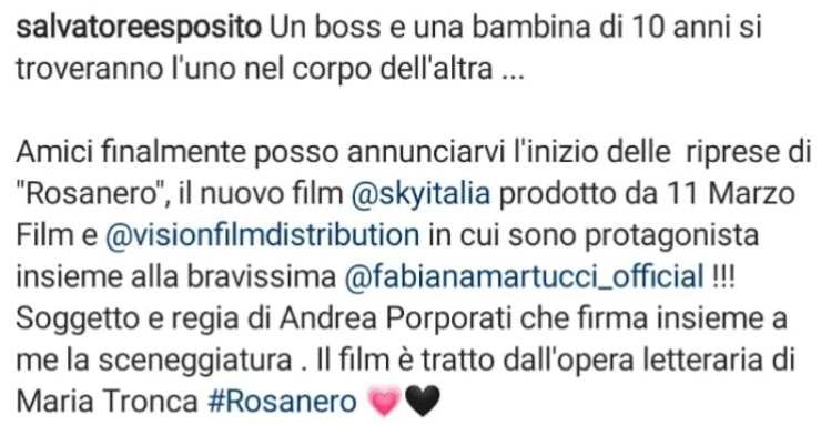 Post Salvatore esposito
