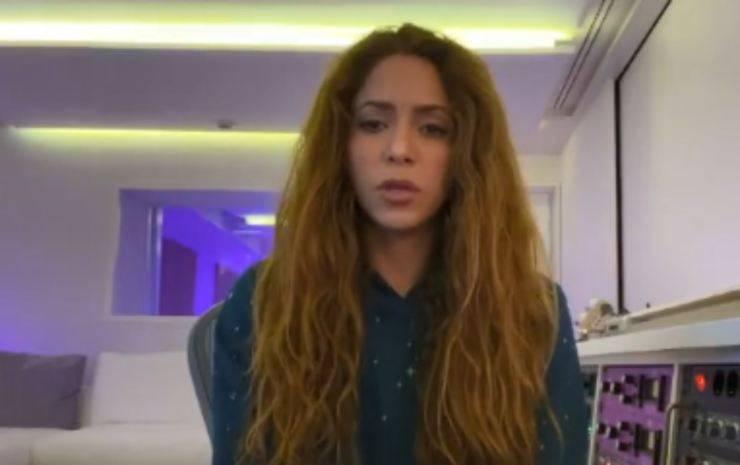 Shakira errore