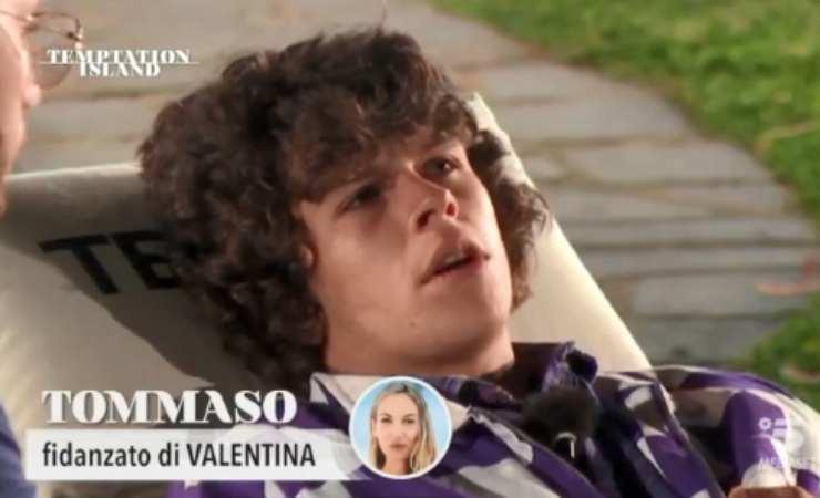 Temptation Island Valentina Tommaso lavoro