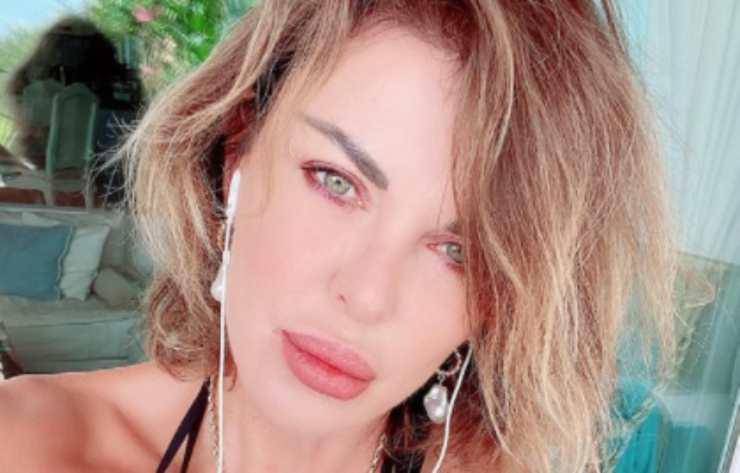 Alba Parietti a 25 anni