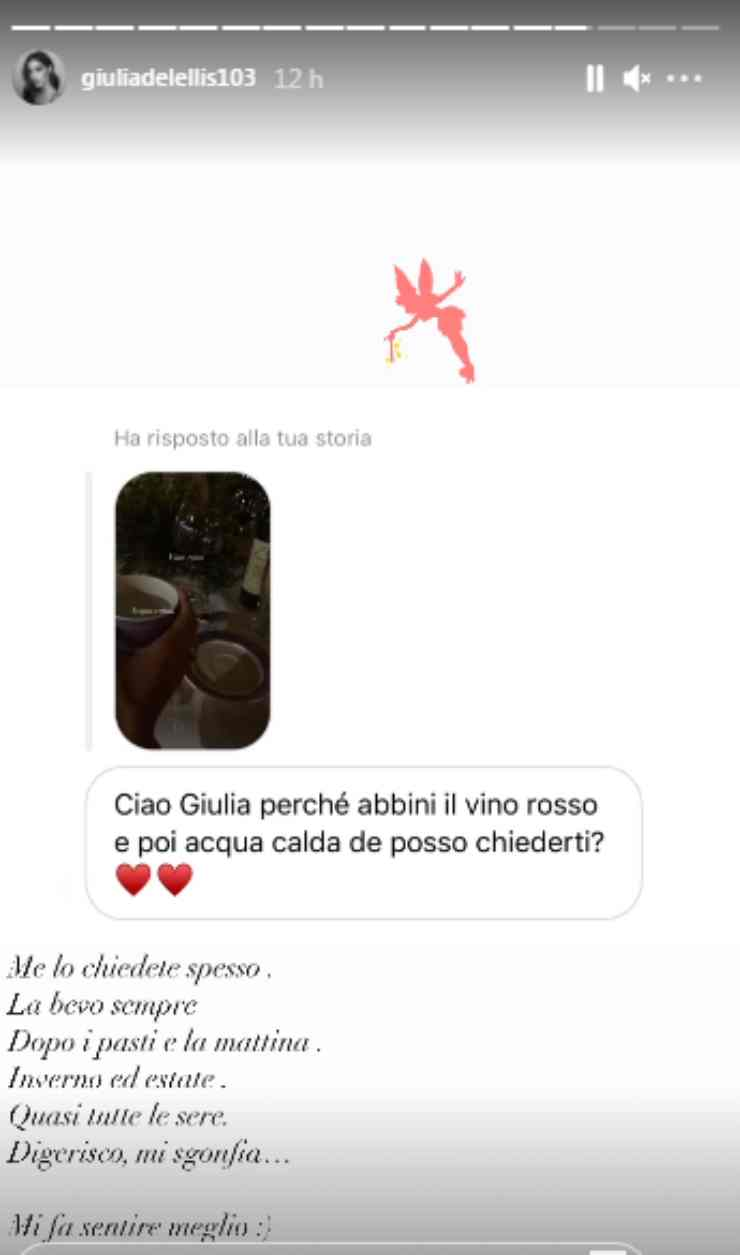 Giulia De Lellis segreto