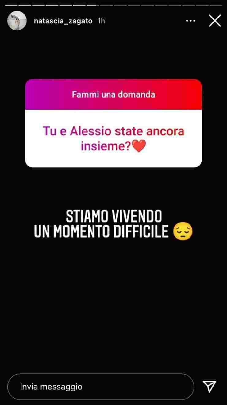 Natascia Alessio dopo Temptation Island