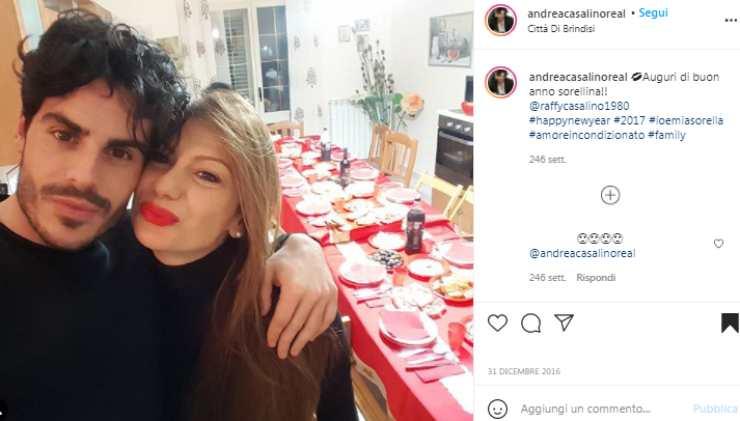 Andrea Casalino sorella