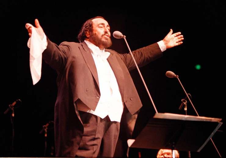 figlia Luciano Pavarotti