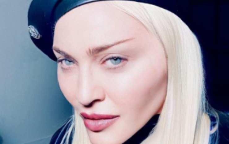 Madonna pelle