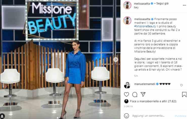 Melissa Satta inarrestabile