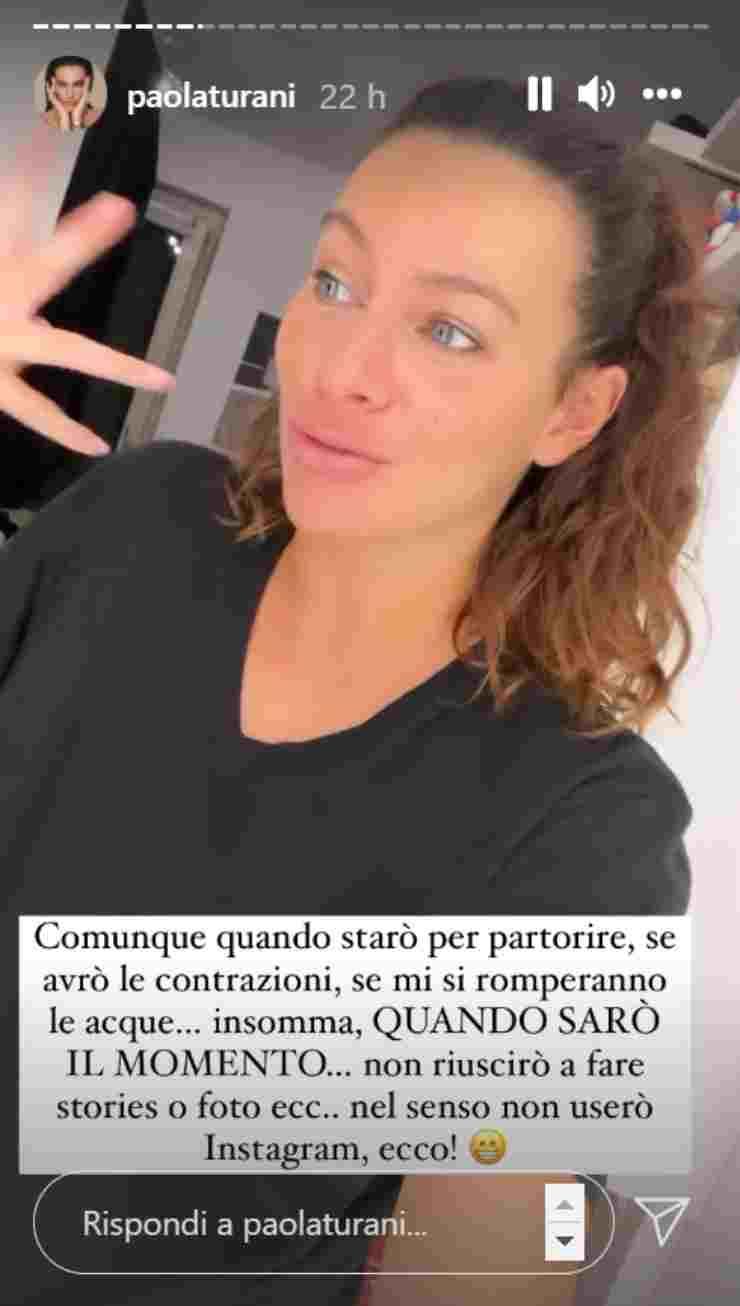 Paola Turani figlio