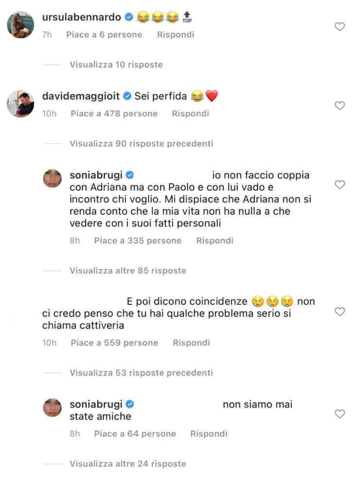 Sonia Bruganelli e Magalli