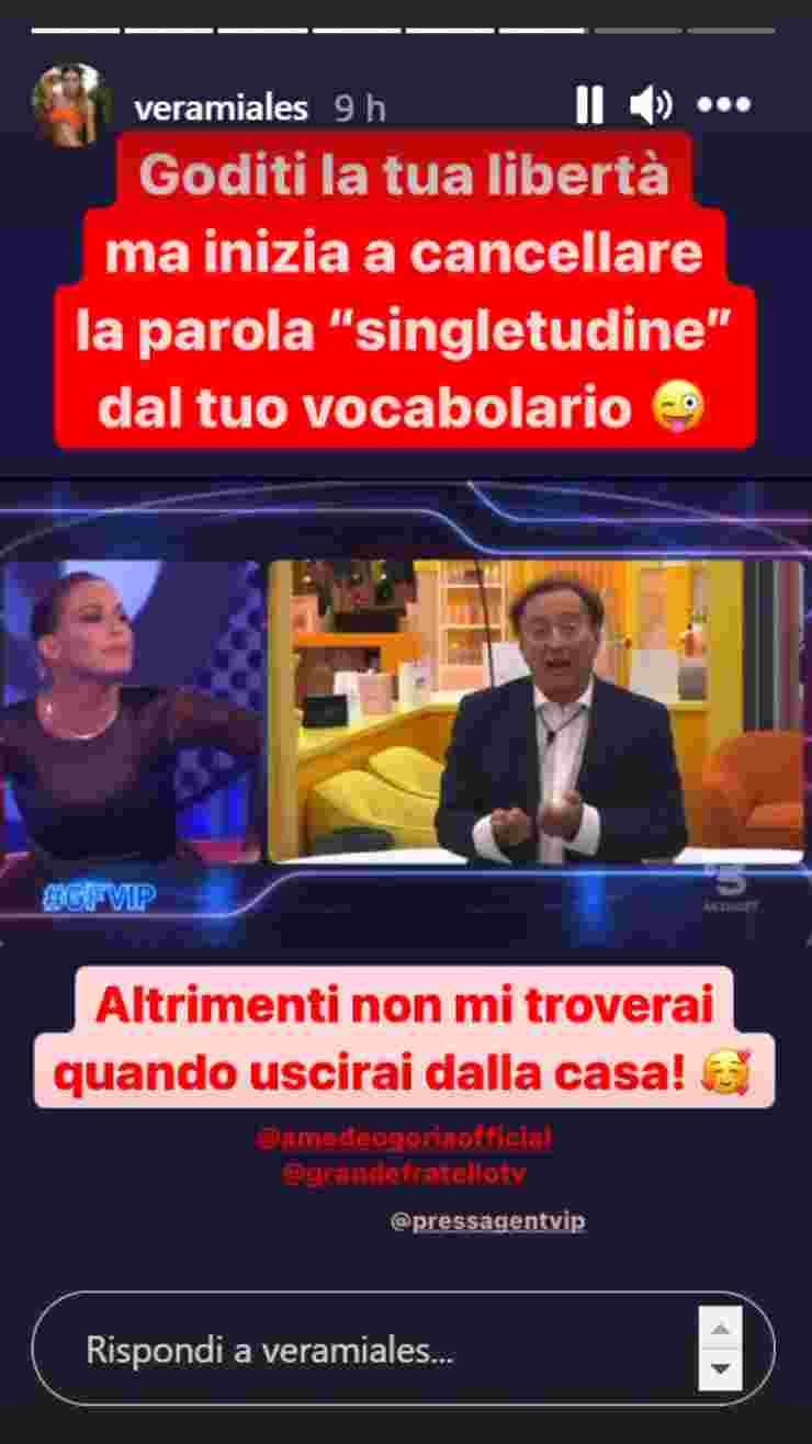 GF Vip Amedeo Goria