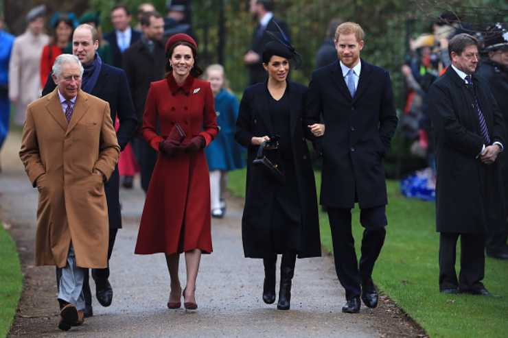 royal family tensione