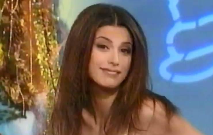 Elisabetta Canalis a Striscia