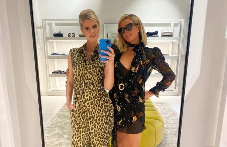 Paris hilton e sua sorella Nicky