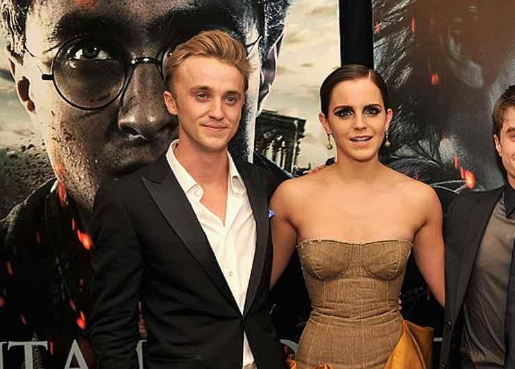 Tom Felton ed Emma Watson