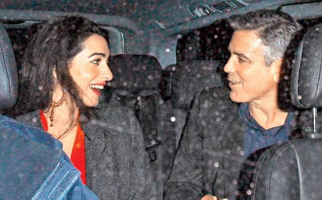 George Clooney Amal e Alamuddin