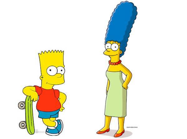 I simpson bart e marge cambiano voce ecco i nuovi - Marge simpson et bart ...