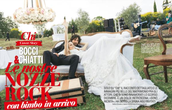 Matrimonio Laura Chiatti Marco Bocci su Chi