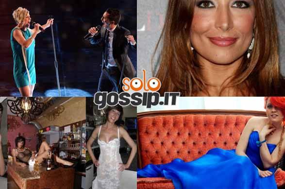 FFFFFFFFF Gossip della settimana   dalla sexy barrista Laura Maggi a Emma Marrone