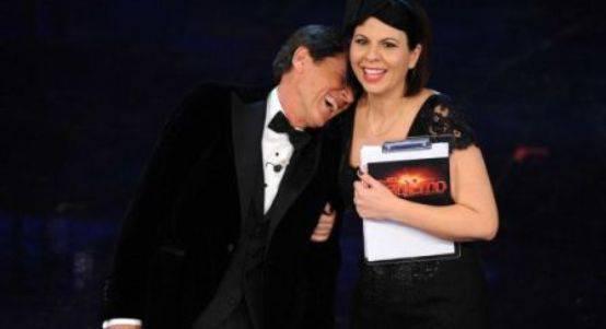 Geppi Cucciari finale sanremo2012 Fabio Fazio e Geppi Cucciari condurranno il prossimo Festival di Sanremo, parola di Gerry Scotti